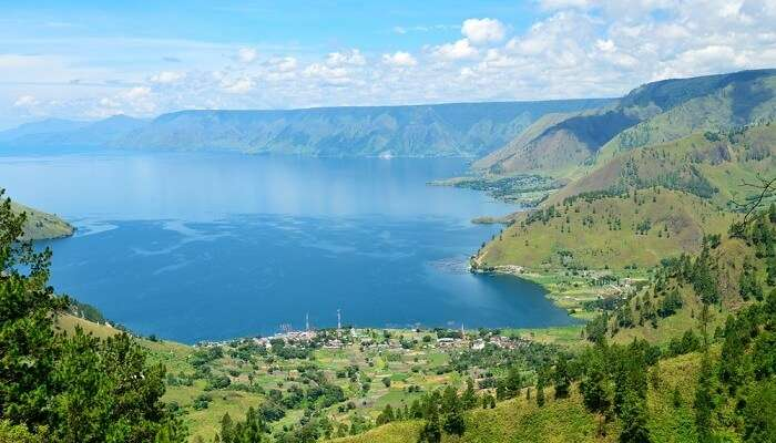 Lake Toba in North Sumatra Bali