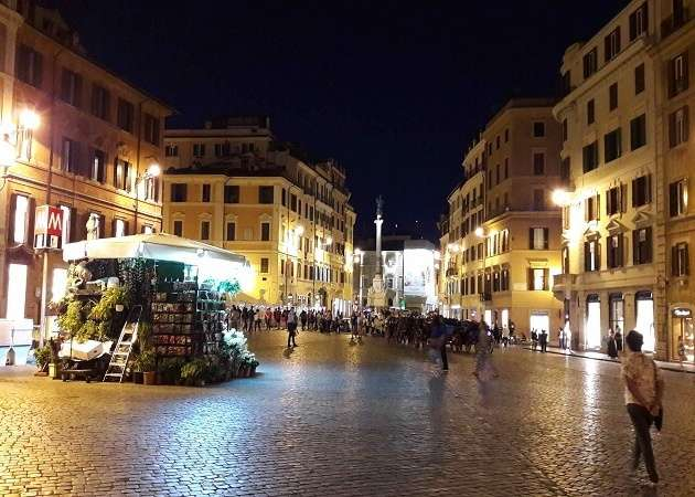 Dinner at the City Center in Rome