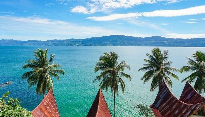 Views of Lake Toba