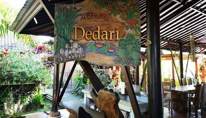 Warung Dedari Restaurant & Villa in Bali