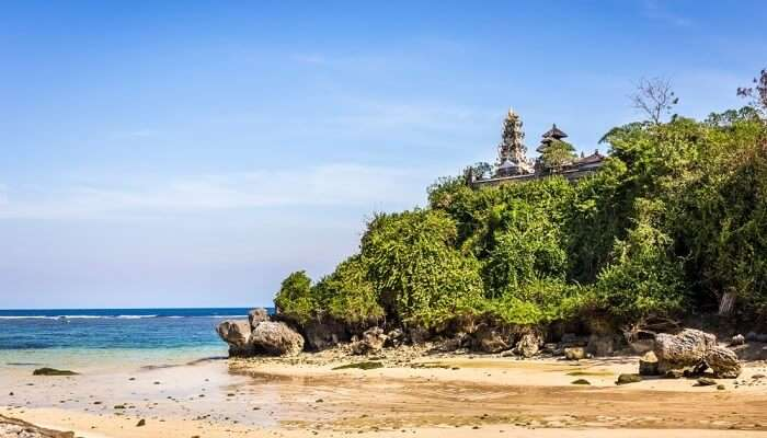 Pura Temple at Geger Beach