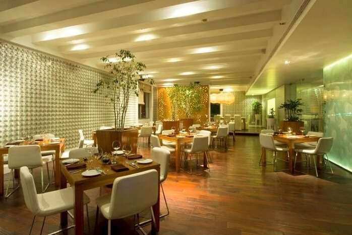 Afraa Restaurant and Lounge ambience and decor