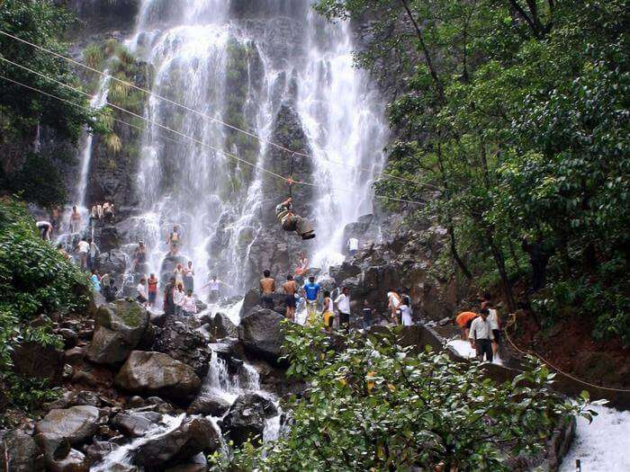 Waterfalls at Amboli makes it a beautiful weekend getaway near Pune