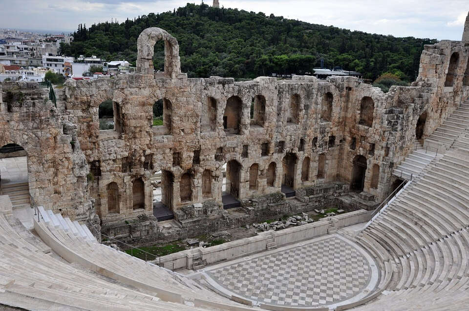 Ancient History Athens Theatre