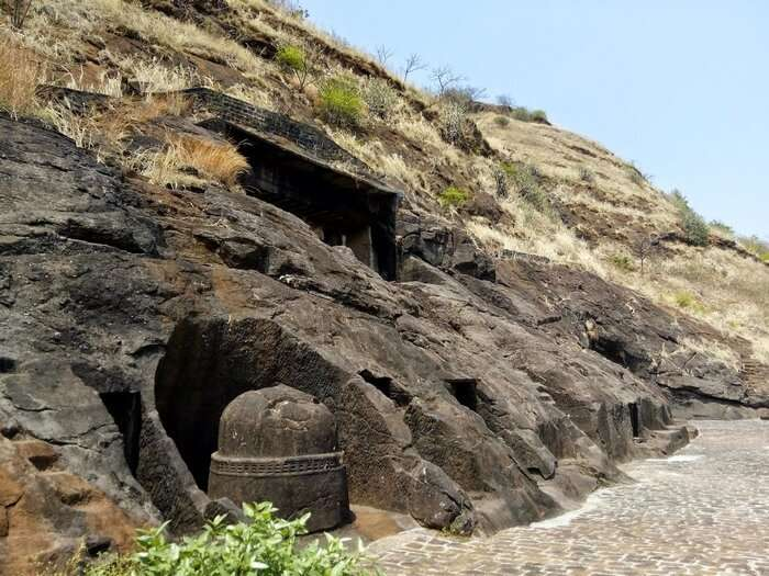 Bedse Caves is an adventurous weekend getaway near Pune
