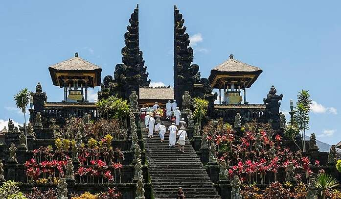 Besakih Temple in indonesia