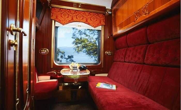 Inside Trans Siberian Train