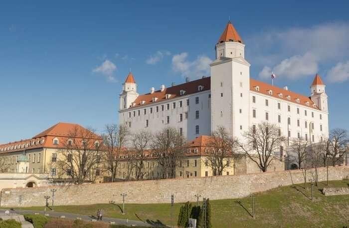 Bratislava Castle View