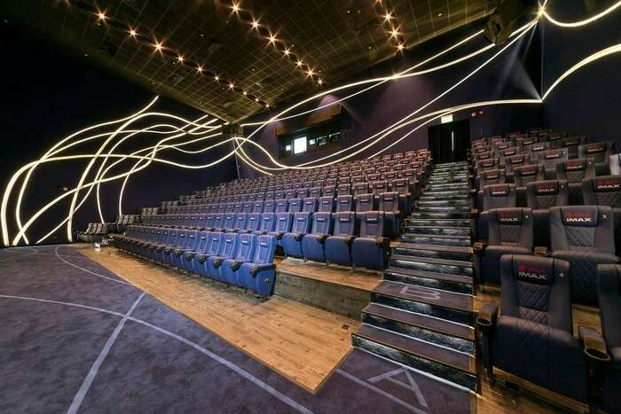 Movie halls in Hong Kong are open till late night