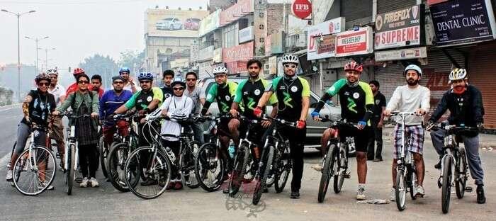 Delhi Cycling Club organises free cycling sessions in Delhi