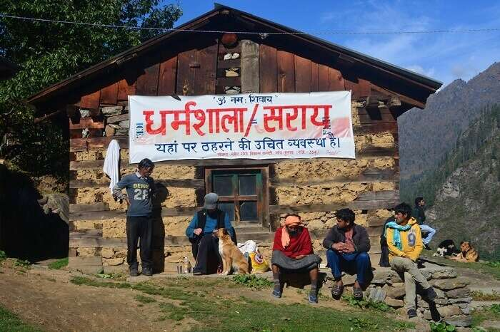 Dharamshala in Kheer Ganga