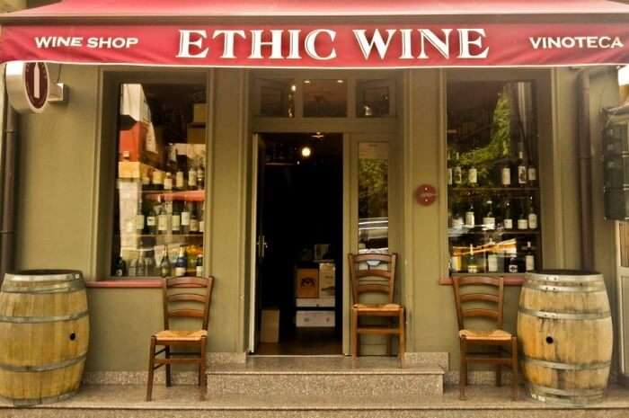 Ethic Wine bucharest