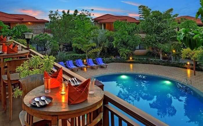 Fern Gir Forest Resort pool