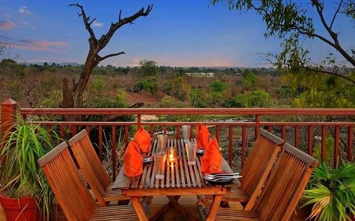 Fern Gir Forest Resort restaurant