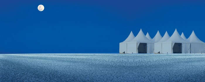 A full moon night at Rann of Kutch is a breathtaking serenity