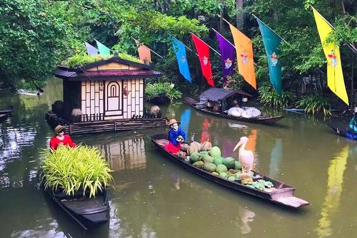 pooja thailand trip day 5 safari world boat