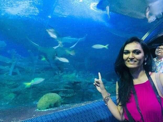 pooja thailand trip day 3 fish