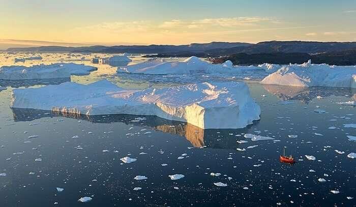Ilulissat Icefjord View