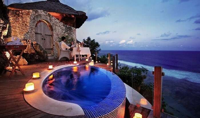 Private pool in Karma Kandara villa
