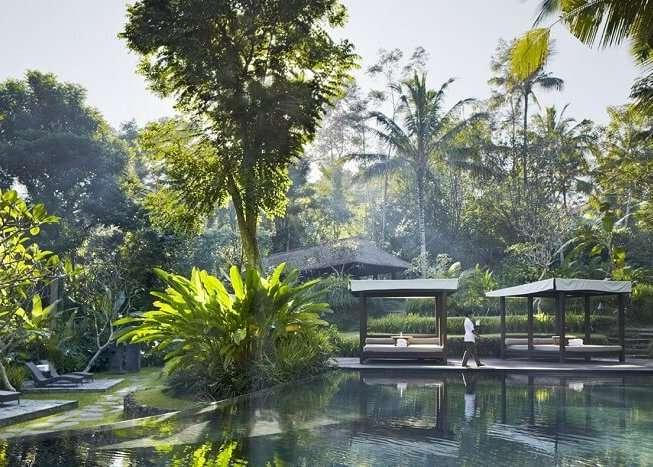 Kayumanis Ubud Private Villas & Spa amidst lush greenery
