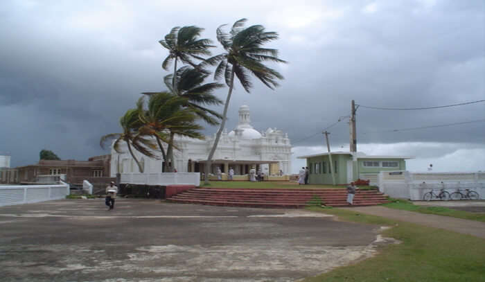 Kechimalai Mosque View