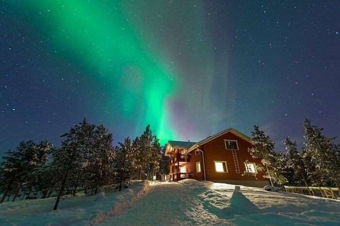Guesthouse Husky in Lapland