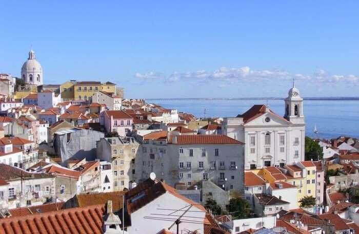 Architecture Lisbon Building Portugal Alfama