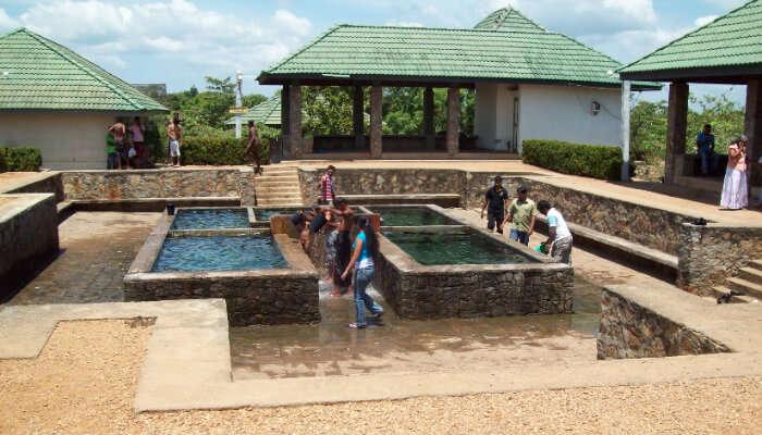Mahapelessa or Madunagala Hot Springs