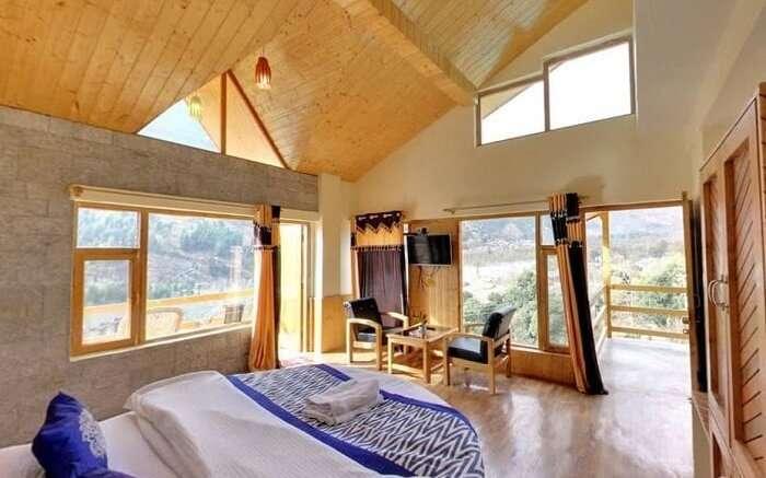Manzana Woodlet Cottages bedroom