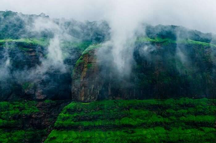 Echo point in Matheran