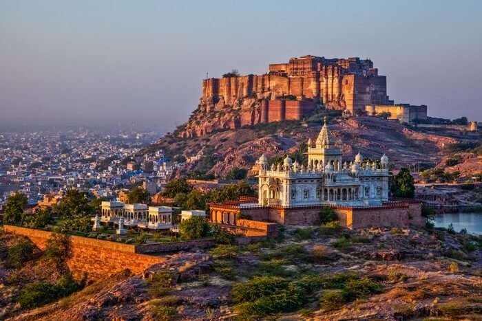 Mehrangarh Fort is one of the most important places to see in Rajasthan