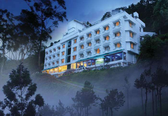 Mist around the Misty Mountain Resort justifies its name and fame