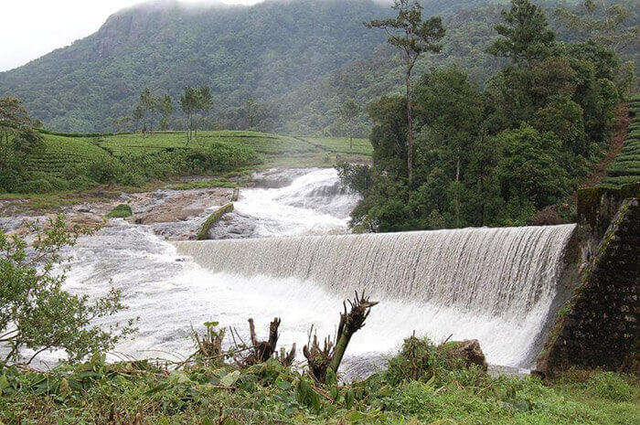 Pallivasal's Hydro Electricity Project near Munnar