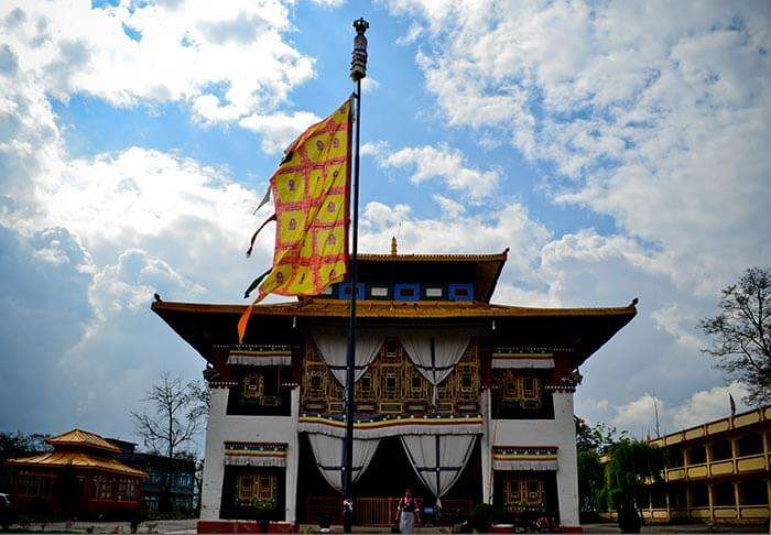 Pemayangtse Monastery is a popular tourist attraction in Gangtok