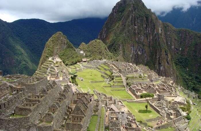 Peru Ruins Old Town Incas Inca Machu Picchu