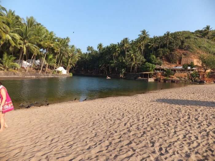 Polem beach is among the most popular beaches in South Goa