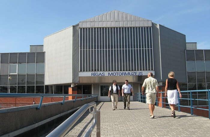 Riga Motor Museum View
