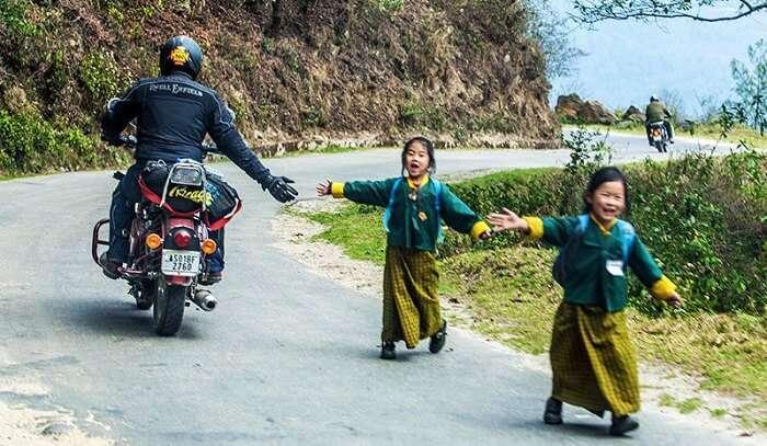 Royal Enfield Bhutan Bike Tour