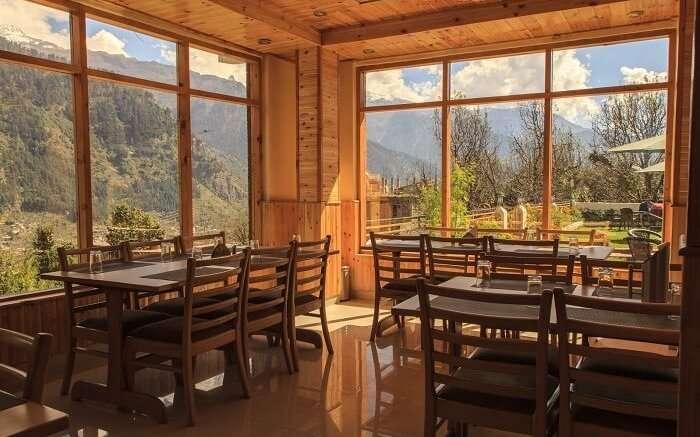 Snow Peak Retreat restaurant