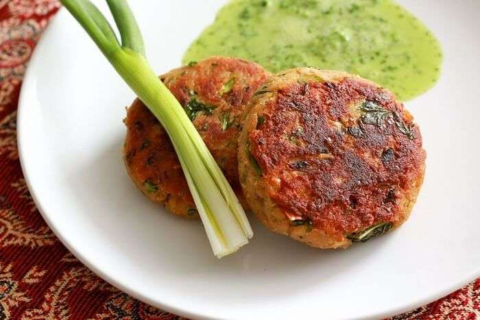 have delecatable shami kebabs in Starstruck