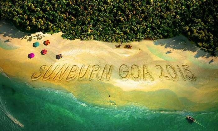 The Goa Sunburn 2015 starts from December 27th