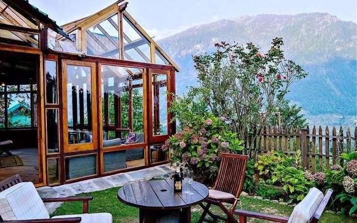 Taara House verandah