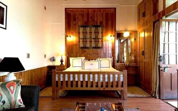 Taara House bedroom