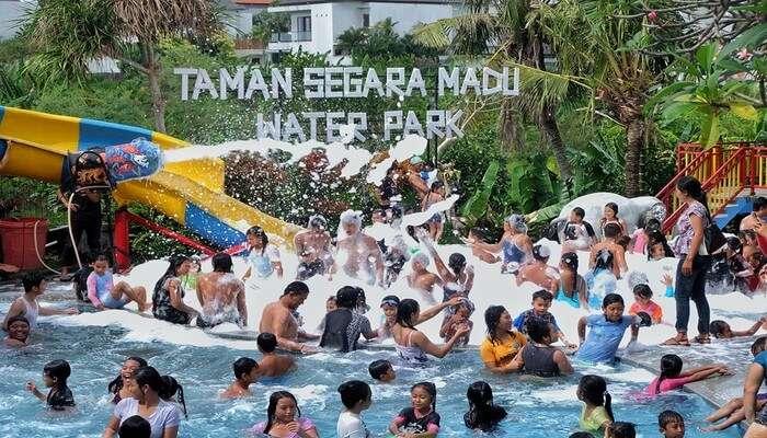Taman Segara Madu Water Park View