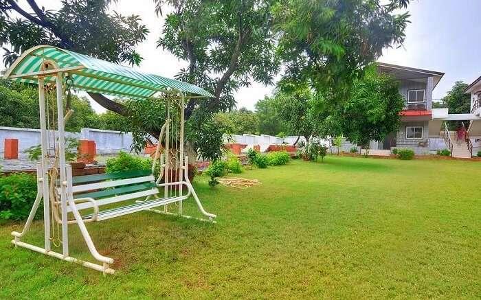 stay at gir garden resort in sasan gir