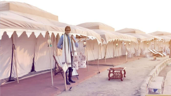 The tent city at the Rann Utsav has all the facilities one can ask for