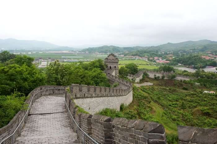 The Great Wall in Liaoning province