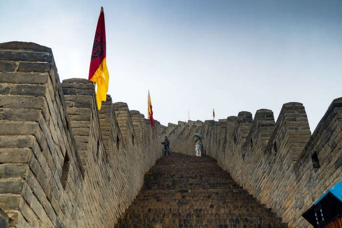 The Great Wall in Shanxi province