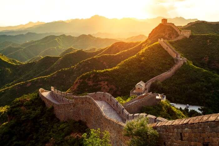 The Great Wall in Beijing province