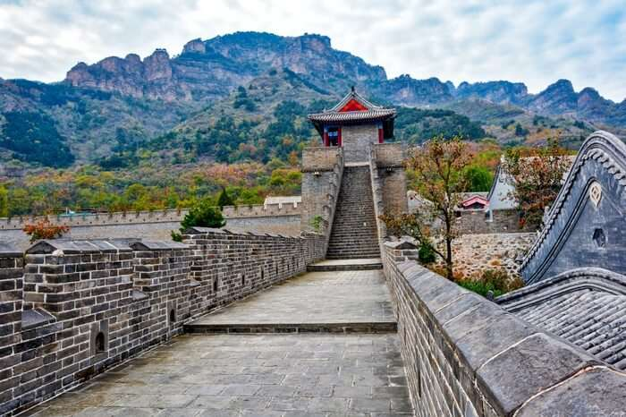 The Great Wall in Tianjin province